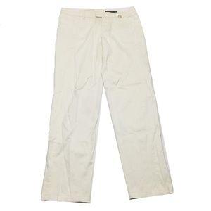 Gucci Men's White Casual Pants Size 46 (34 Mea)